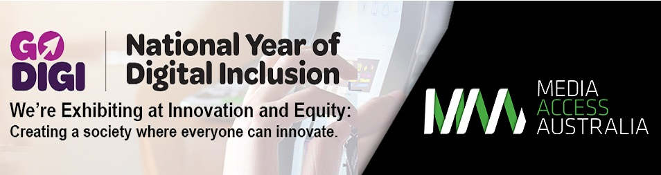 Image of 2016 National Year of Digital Inclusion Expo banner
